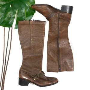Brazilian Brown Leather Knee Boots Dolcis Trixy 11